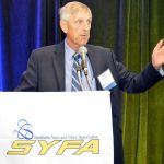 SYFA President Roger Crossfield opened the event.