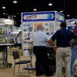 The Henderson Sewing Machine Co. booth at Texprocess Americas