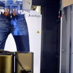 Texprocess USA exhibitor Spain-based Jeanologia S.L. demonstrated its Flexi HS3D laser denim finishing technology
