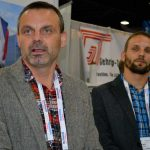 Frantisek Beno (left) and Petr Zapletal, Czech Republic-based glass and natural fiber nonwovens producer Kobe-cz.