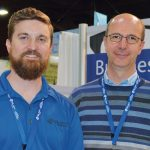 Josh Davis (left), PA Group USA; and Davide Giustina, Gruppo Partners Associates