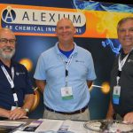 Left to right: Steve Gravlee, vice president of sales; David Barrow, sales representative; and Lee Lemere, sales representative, Alexium Specialty Chemicals And Solutions