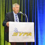 Roger Crossfield, SYFA president, announced a name change for the association at its most recent meeting.