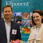 Dr. Haskell W. Beckham (left), principal scientist, polymer science & materials chemistry; and Dr. Erin Kirkpatrick, senior scientist, polymer science and materials chemistry practice, Exponent