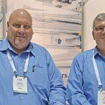Steve DeSpain (left) and Jim Dalton, Reifenhauser Inc.
