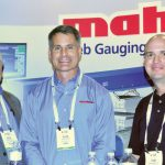 (left to right): Eric J. Reber and Alan Lavore, Mahlo America Inc.; and Tony Marquette, Factory Resources