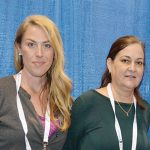 Marley Flowers (left) and Kelly Cauthen, Mahr Metering Systems