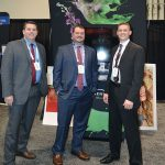 (left to right): Jason Fannin, Sensient Colors LLC; Scott Konkle, Einstein Graphic Services; and  Adam Stack, Sensient Colors