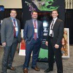 (left to right): Jason Fannin, Sensient Colors LLC; Scott Konkle, Einstein Graphic Services; and  Adam Stack, Sensient Colors