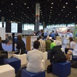 Each day, Tech Talks powered by the Nonwovens Institute took place on the show floor.