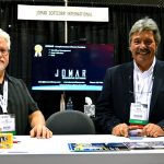 Ed Keller (left), senior project manager; and Mark J. Blasman, vice president, marketing and software development, Jomar Softcorp International Inc.