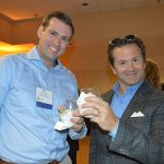 Ben Trogden (left), Milliken & Company; and Bart Krulic, Ascend Performance Fibers