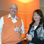 Bruce Stroupe (left), Hahl; and Laura Murphy, PCI Wood Mackenzie