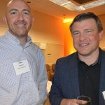 Chris Hitt (left), Ashfar Enterprises; and Torry Losch, Hailide America