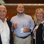 (left to right): Jerry Simmons, Pharr High Performance; Scott Burbridge, Hailide America; and Kim Hall, Pharr High Performance