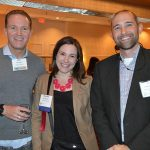 (left to right): Mike Becker, Michael S. Becker Inc.; Meredith Boyd, Unifi Inc.; and Christopher Schultz, Newell Brands - Applied Materials