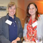Stephanie Sullivan (left), DSM Dyneema; and Dalia Taylor, Marmon Holdings