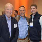 (left to right): Steve Zagorski, US Fibers; Dan Sistrunk, Milliken & Company; and Matt Holt, Milliken & Company