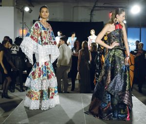Designs by Emilio Mata were featured in Epson's 4th Annual Digital Couture Project.