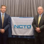 Marty Moran (left), new NCTO chairman; and Don Bockoven, new NCTO vice chairman, and president and CEO of Wellford, S.C.-based Leigh Fibers and ICE Recycling