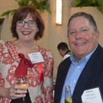Machell Apple (left), True Textiles and current SYFA President; and Charles Poston, Kluber Lubrication