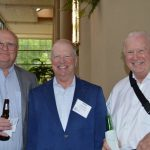 (left to right): Gray Sullivan, TSI Yarns; Darrel Collier, Tenon Orbichem; and Steve Zagorski, U.S. Fibers