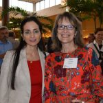 Diane Bayatafshar (left), SYFA; and Laura Watts, Invista