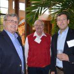 (left to right): Jorman Fields, TNC Global; Bruce Stroupe, Perlon; and John Fields, TNC Global