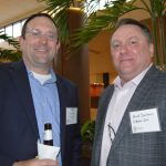 John Freeman (left), Nan Ya Plastics Corp. America; and Brad Durham, O'Mara Inc.
