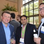 (left to right): Torry Losch, Hailide America, Khurm Hussain, Unifi; and Gill Brown, Unifi