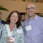 Laura Murphy (left), PCI Wood Mackenzie; and Chris Hitt, Ashfar Enterprises