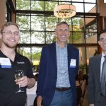 (left to right): Seth Sedberry, Mark Hubbard and Stacey Henegar, Goulston Technologies