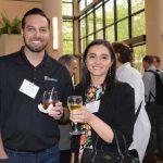 Robert Stevens (left), BlackBridge Investments; and Erin Quinn, Palmetto Synthetics