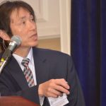 Teruki Ikeda, senior R&D manager - Fluids & Silanes, Shin-Etsu Silicones of America Inc., presented on the topic of coatings for textiles.