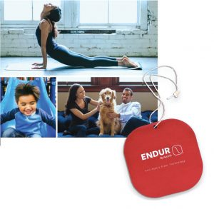 ENDUR by Ascend™ is a unique antistatic fiber technology that adds value to yoga and performance gear, loungewear, and childrenswear among other garments. The company also offers a hangtag program for customers using the fiber.