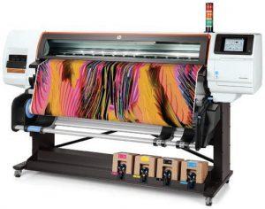 The HP Stitch S500  digital textile printer
