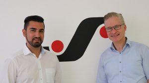 Sajid Malik (left) and Siegfried Steggemann are the two new sales directors at BST eltromat.