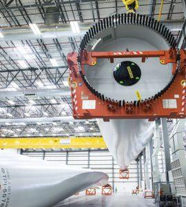 TPI Composites Inc., Scottsdale, Ariz., manufactures composite wind blades for wind turbines.