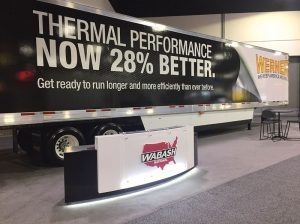 Wabash National's new refrigerated trailer exhibits weight and efficiency savings through the use of SAERTEX fabrics.